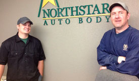 The NorthStar Auto Body Team